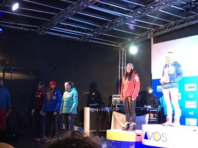 Podium Davos